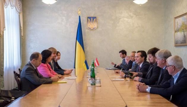 В Україні з візитом перебуває парламентська делегація Австрії