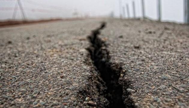 Землетрясение в Китае достигло почти шести баллов