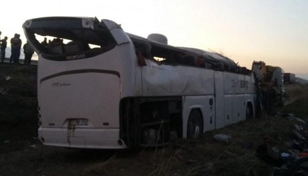 Украинцы не пострадали в аварии автобуса в Турции — МИД