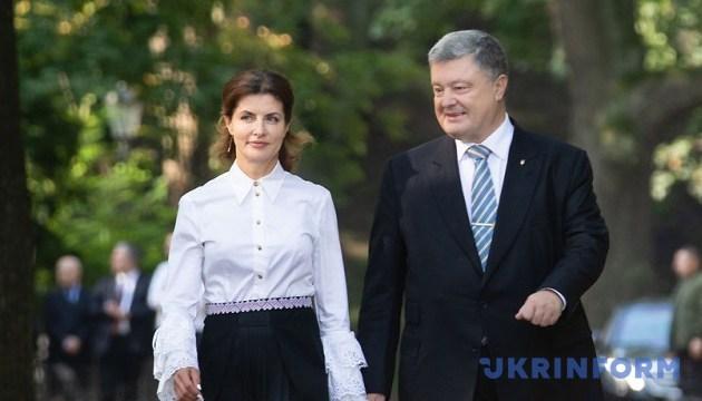 Poroshenko visita Vínnytsia en el Día de la Ciudad (Vídeo)