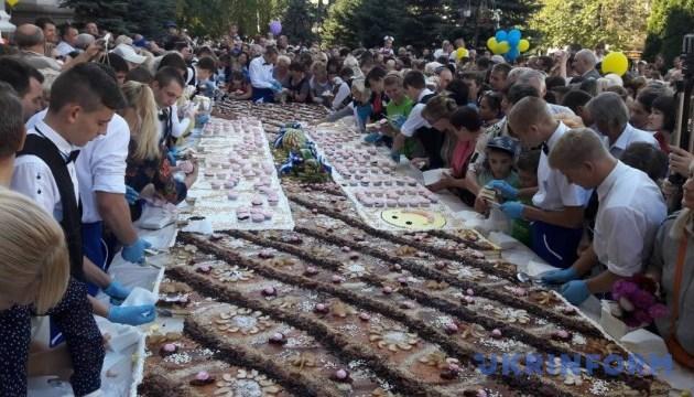 В Кропивницком на День города испекут 264-килограммовый пирог