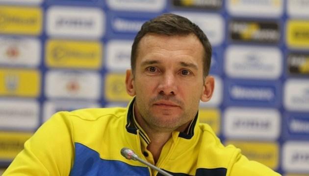 Андрій Шевченко: Зі словаками усе вирішить фізичний стан гравців