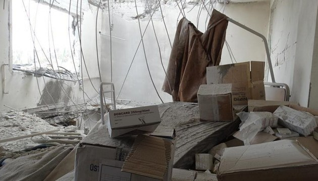 Авіація Асада скинула бочкові бомби на лікарню в Ідлібі