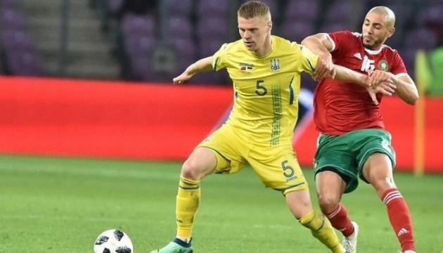 Бурда сыграет в стартовом составе Украины в матче против Словакии