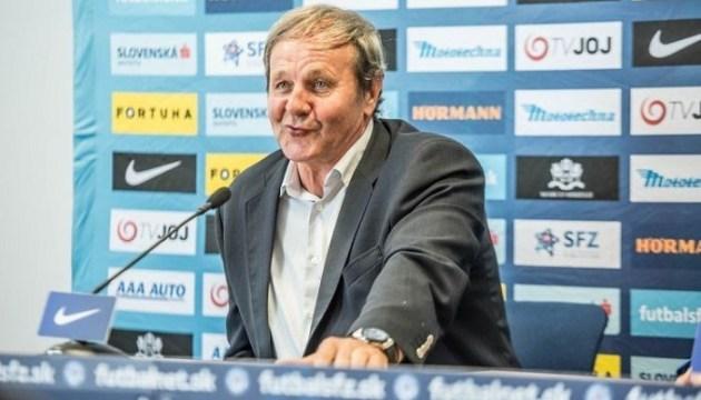 Тренер Словакии: Пенальти - очень спорный, мы не заслужили поражение