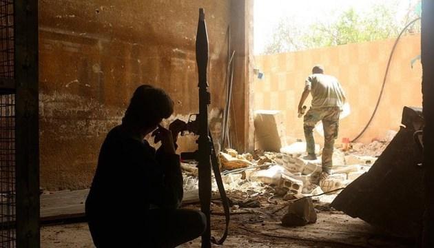 Сирийская оппозиция нанесла ракетный удар по позициям войск Асада