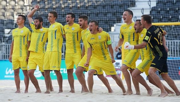 Пляжный футбол: сборная Украины завоевала путевку на Европейские игры-2019