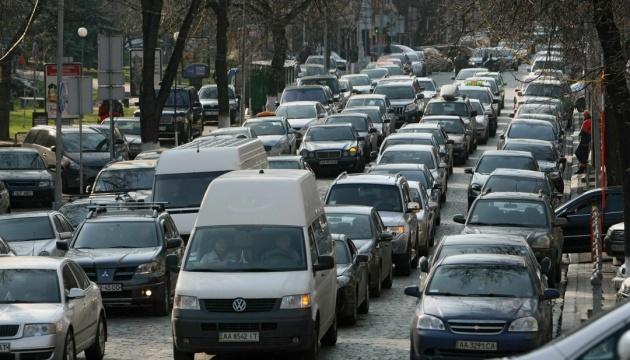 Киев попал в ТОП-20 городов мира с самым высоким в мире уровнем пробок