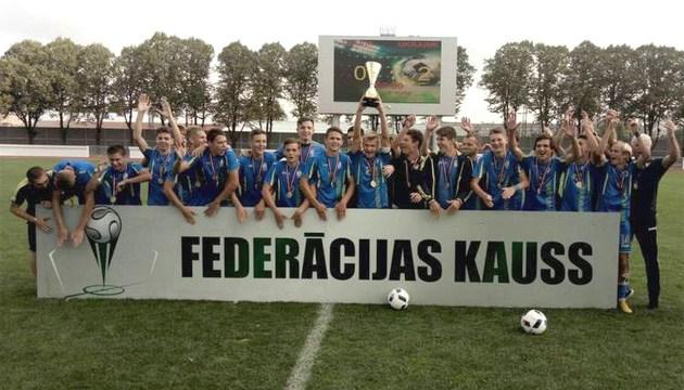 Футбол: сборная Украины U-19 выиграла международный турнир в Латвии