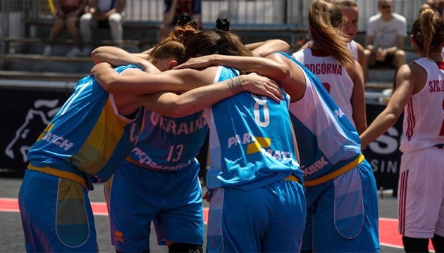 Баскетбол 3х3: женская сборная Украины стартует на чемпионате Европы первой сеяной