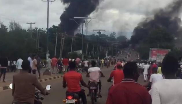 В Нігерії вибухнула цистерна з газом: загинули 35 людей