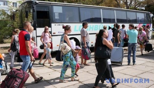 Кислотный Армянск: На детских площадках – ни одного ребенка