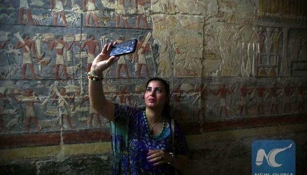 Египет открыл для туристов 4000-летнюю гробницу