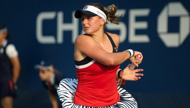 Теніс: Катерина Козлова з перемоги стартувала на турнірі WTA в Хіросімі