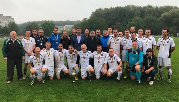 Футбол: переможець чемпіонату України 35+ визначиться 13-14 вересня