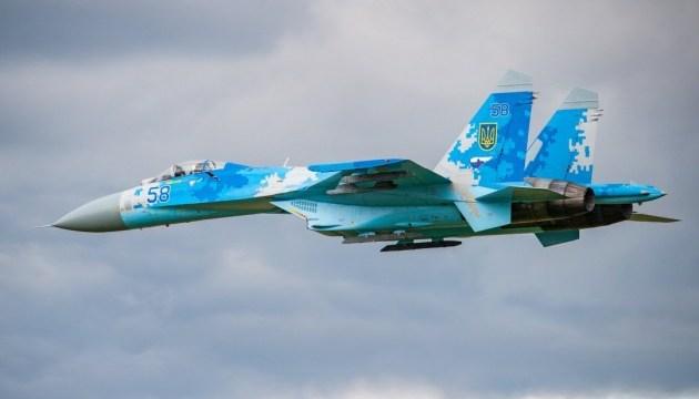 Ukrainian pilot demonstrates aerobatics at air show in Belgium - president