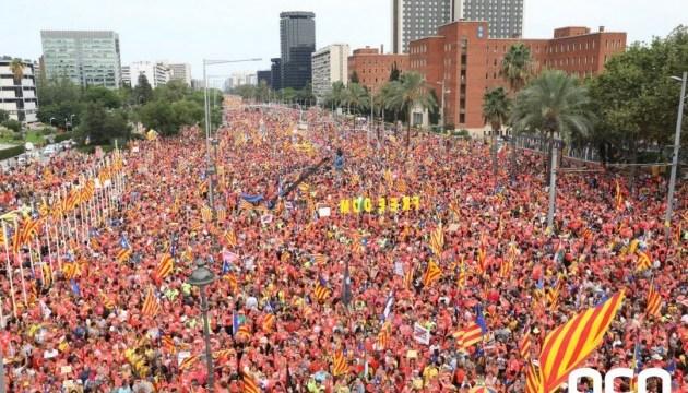 У Барселоні відзначили день Каталонії: знову вимагали незалежності регіону