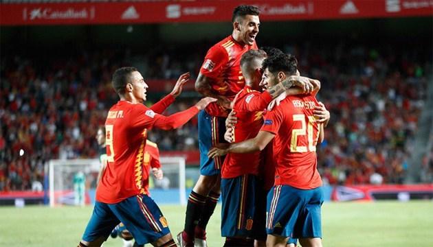 Іспанія забила Хорватії 6 м'ячів у Лізі націй УЄФА