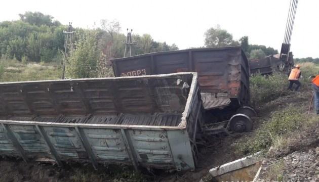 На Харьковщине электричка столкнулась с товарняком, четверо пострадавших