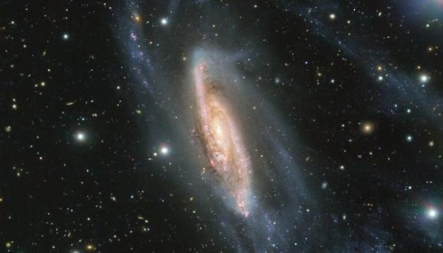 Астрономи отримали знімок галактики із сузір'я Чаші