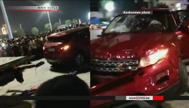 У Китаї автівка в'їхала в натовп, 11 загиблих