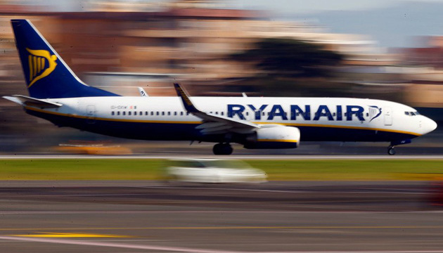 Ryanair performs first flight from Italy to Ukraine