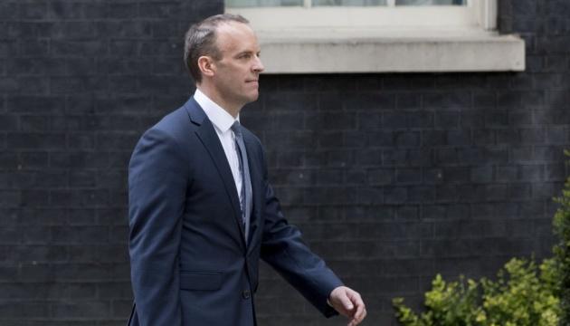 Глава МЗС Британії привітав Зеленського у Лондоні