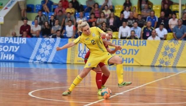 Футзал: Женская сборная Украины обыграла Беларусь