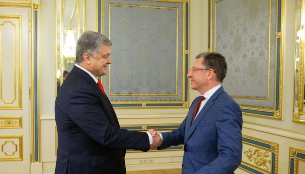 Poroshenko, Volker discuss threats posed by Russia's actions