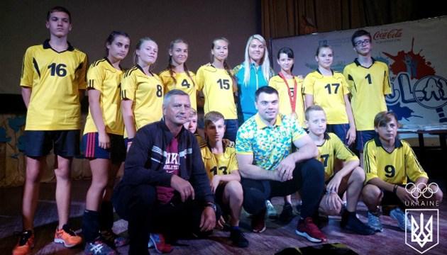 Олимпийские чемпионы Харлан и Торохтий посетили