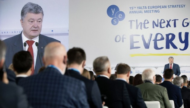 Poroshenko: Sanctions against Russia efficient