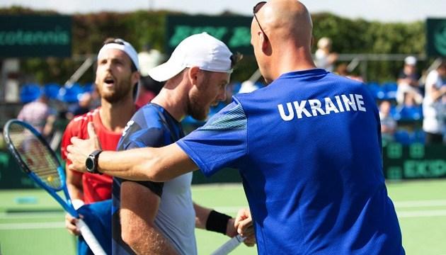 Український тенісист Марченко програв на старті Кубка Девіса в Бучі