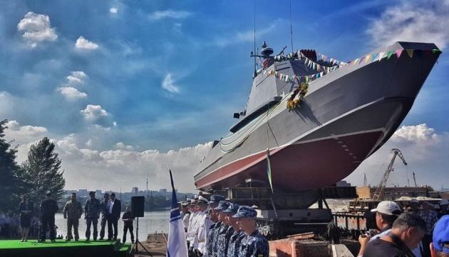 """Турчинов говорит, что катер """"Кентавр"""" не уступает судам подобного класса в НАТО"""