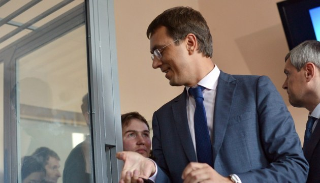 Volodymyr Omelyan a été libéré sous caution par le tribunal