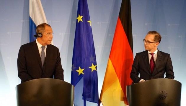 Лавров и Маас обсудили выполнение Минских соглашений