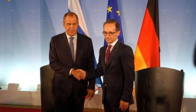 МЗС Німеччини анонсує зустріч Мааса з Лавровим наступного тижня