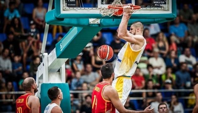 Сборная Украины по баскетболу сенсационно обыграла испанцев в отборе на чемпионат мира