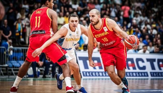 Ukraine beats Spain in FIBA Basketball World Cup 2019 European Qualifiers