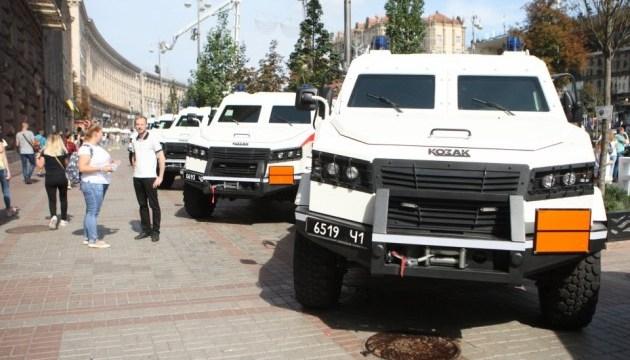 ГСЧС получила украинские спецмашины