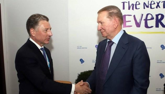 Кучма - Волкеру: Только закрытие границы с РФ вернет мир на Донбасс