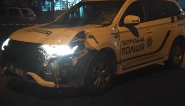 У Чернівцях поліцейське авто збило на смерть пішохода