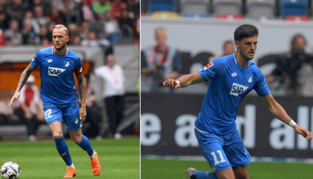 Двоє провідних гравців «Гоффенгайма» травмувались перед матчем з «Шахтарем»