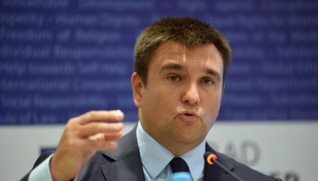 Klimkine donne une semaine à la Hongrie pour rappeler son consul d'Ukraine