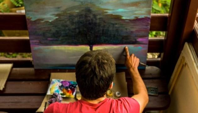 """На Закарпатті міжнародний пленер """"Чорна гора"""" завершився виставкою картин"""