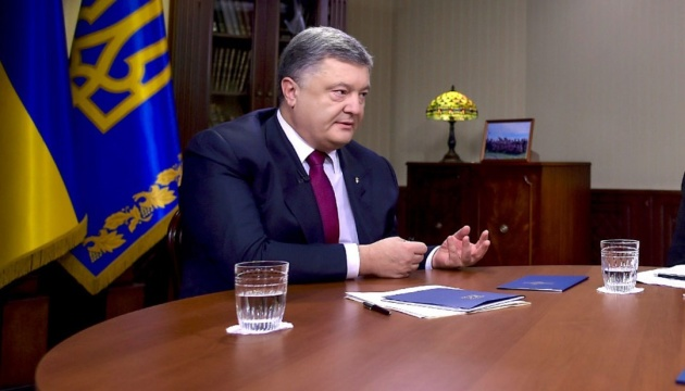 Poroshenko: Russia intends to disrupt elections in Ukraine