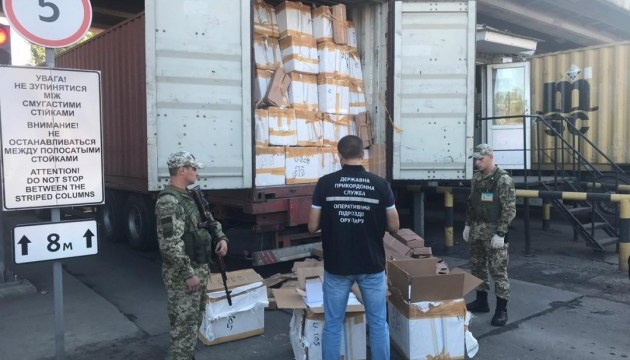 В одесском порту нашли контрабанды на десять миллионов