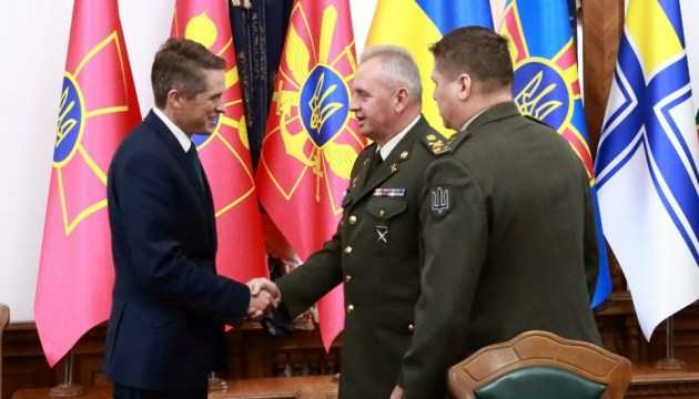 Ukraine praises Britain's support for Ukrainian Armed Forces - Muzhenko