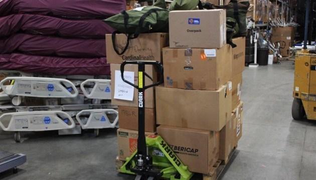 Українці Мюнхена відправили чергову гуманітарну допомогу до Івано-Франківська