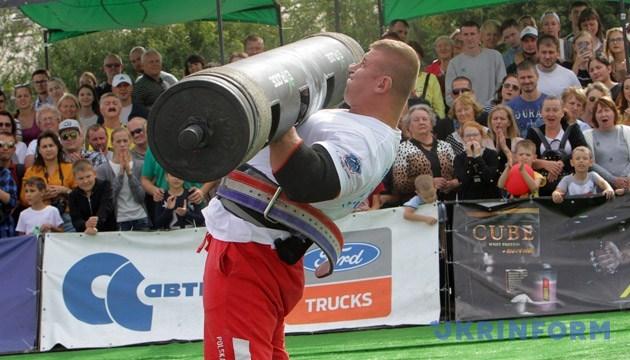 Міжнародні змагання зі стронгмену відбудуться у Кропивницькому 28 вересня