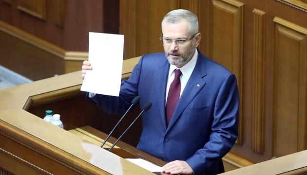El Bloque Opositor nomina a Vílkul para presidente
